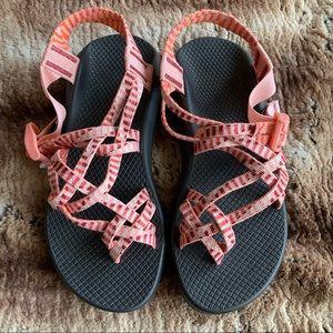 Chaco Z Cloud X2 Peach Coral Sandals